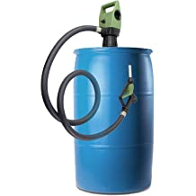 for DEF not for Drinking Water Option - Rechargeable Battery Set//Car Bettery DC Cable Diesel TERA PUMP TReDRUM 33.5-49 IBC Totes Telescopic Plug-in Electric Drum Barrel Pump Water