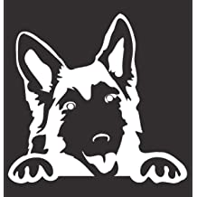 Mister Petlife I Love My German Shepherd Sticker Vinyl Auto Window v2