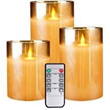 Flameless Flickering Tealights Battery Operated Tea Light Warm White for Christmas Celebration Pack of 12 Eldnacele LED Tea Light with 6 Hour Timer D1.4 x 1.3