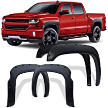 Black Textured OE Style Fender Flares 07-13 GMC Sierra 1500 Short Bed 69.3 Only