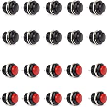 Pack of 8pcs EK1926 Gikfun AC 2A 250V// 5A 120V NO//NC SPDT Momentary Push Button Switch DIY Kit for Arduino