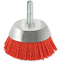 """Nylon Filament 2500 max.RPM 58/""""-11 Thread 6/"""" Cup Cup Power Brushes Brush"""