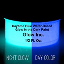 Ultra Blue Glow in the Dark Sand 1 Ounce Glow Inc.