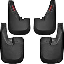 Red Hound Auto 1988-99 Compatible with Chevy GMC C//K /& 92-99 Suburban Mud Flaps Guards Splash Front Rear 4pc