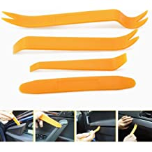 spartshome Door Clip Panel Trim Removal Tool Kits Fit for Toyota Corolla Camry Land Cruiser Prius 4Runner FJ Cruiser Highlander RAV4 Sienna Tacoma Venza Car Dash Radio Audio Installer Pry Tool