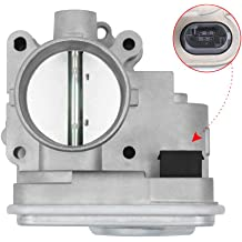 4 Pipe Fuel Injection electric Throttle Body Compatible with 05-06 TC 04-06 CAMRY // 03-07 HIGHLANDER // 04-05 RAV4 // 04-06 SOLARA