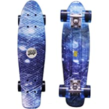 Multiple Graphic Styles Available Limited Edition Artist Collaboration Series Hybrid Cruiser Fireball Mini Cruiser Longboard Skateboard 29.5 Deck /& Complete