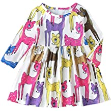 BOBORA Newborn Baby Girls Long Sleeve Tutu Dress Solid Base Tunic