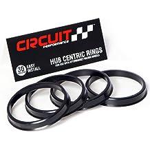 perfk Hub Centric Ring OD 73.1mm-ID 64.1mm Hub Ring Spigot Rings