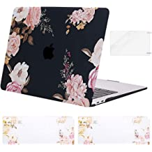 Plastic Hard Shell/&Sleeve Bag/&Keyboard Cover/&Webcam Cover/&Screen Protector Compatible with MacBook Air 13 MOSISO MacBook Air 13 inch Case 2020 2019 2018 Release A2179 A1932 Retina Water Blue Marble