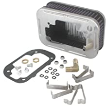 Chrome Air Cleaner for Weber Carburetor 32//36 DGEV DGV 38 DGAS 1 7//8 tall