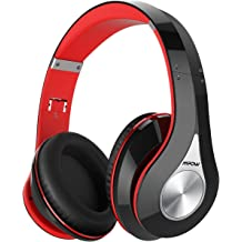 15bdc5a9618 Mpow 059 Bluetooth Headphones Over Ear, Hi-Fi Stereo Wireless Headset,  Foldable, Soft Memory-Protein Earmuffs, w/Built-in Mic Wired Mode .