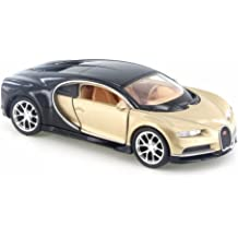 WELLY BUGATTI CHIRON GOLD 1:34 DIE CAST METAL MODEL NEW IN BOX