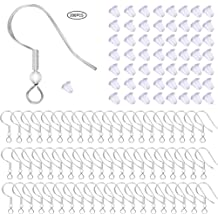 TOAOB 10MM Surgical Steel Hypo-allergenic French Earrings Hook Earwires with Open Loop Mixed Color Making Pack of 600pcs