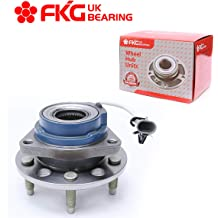 512357 Rear Wheel Bearing and Hub Assembly Compatible With Buick LaCrosse Century Chevy Impala Venture Olds Intrigue Pontiac Aztek Montana Saturn Relay TUCAREST 512150 x2 FWD 5 Lug W//ABS Pair