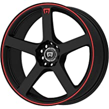 Touren TR60 16 Black Wheel Partnumber 3260-6703MB Rim 5x100 /& 5x4.5 with a 42mm Offset and a 72.62 Hub Bore