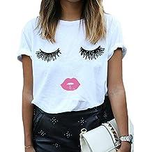 I Love Lucy 50/'s TV Series Eyelashes Juniors Sheer T-Shirt Tee