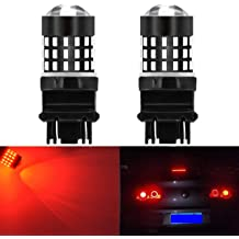 Pack of 2 KaTur Super Bright 3157 3047 3057 3155 3156 P21//5W Switchback LED Bulbs White//Amber 3014 120SMD with Projector for Turn Signal Lights and Daytime Running Lights//DRL
