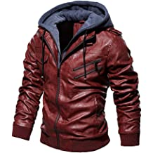 Bolayu Men/'s Knit Stripe Zip Up Hooded Jacket Slim Fit Sport Casual Lightweight Fall Winter Warm Fashion Hoodie Coat