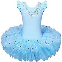 Kids , White Green Shamrock Rush Dance Ballerina St Patricks Day Parade Shamrock Clover Costume Tutu 2-8 Years
