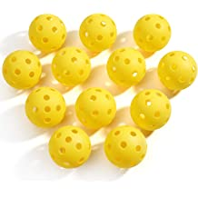 TQVAI Outdoor Pickleball Balls Specifically Designed Approved for Tournament Play Professional Performance