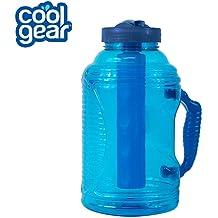 Cool Gear Rad to the Bone Red Dinosaur 16 oz Plastic Water Bottle