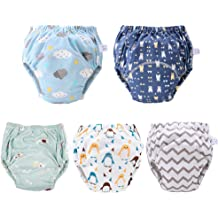 Learning Designs Training Underwear Pants 1T-5.5T 6 Pack Potty Training Pants for Boys Girls