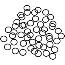 uxcell O-Rings Nitrile Rubber 3.5mm Inner Diameter 5.5mm OD 1mm Width Round Seal Gasket 50 Pcs