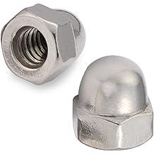 U-Turn 3//8-16 Acorn Nut Stainless Steel 18-8 10 Pack