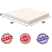 0.5 H FoamTouch Upholstery Cushion High Density Made in USA
