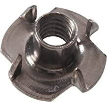 8-Pack The Hillman Group 44764 M10 x 11 x 25 Metric Tee Nut Brad Hole
