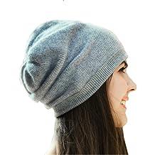 Black EnjoCho 2018 Winter Warm Slouchy Beanie Touchscreen Gloves Unisex Knit Hats Skull Caps Scarf