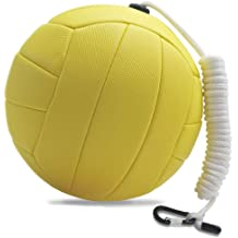 Official Size-Yellow Tether Ball Mikasa Ultra Cushioned Tetherball With Rope