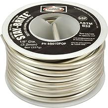 "Harris Stay-Brite Silver Bearing Solder 1//16/"" 1 lb Pound Spool SB31"