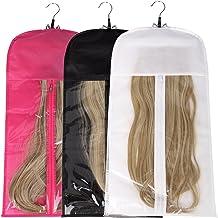 MonkeyJack Mannequin Model Cork Head Canvas Block Wig Making Display Holder 4 Colors 3 Size 20-22 20 inch 3#