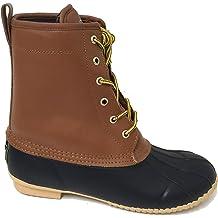 a6dd4c347 G4U-R31BS Climate X Men's Duck Boots Leather Thermolite Insulated  Waterproof