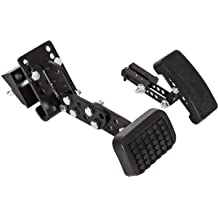 Newsmarts Sport Pedal Pads Non Drilling Accelerator Pedals Cover Kits for Volvo S60 XC60 V60 S80