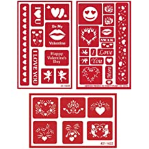 Self-Stick Free How to Etch CD Santa Glass Etching Stencils for Christmas