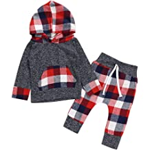 OCEAN-STORE Toddler Baby Boys Girls 18 Months-7T Solid Letter Thick Warm Pants Trousers Clothes Outfit