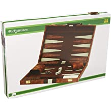 Faux Leather Vinyl Backgammon Set; Favorite Board Game; Best in Classic Board Games Tradeopia Corp