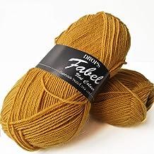 54 yds ea lot of 2 Circus Drops Eskimo Print 100/% wool yarn dark tones