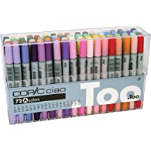 """10x NEW /""""R/"""" Series Reds Broad//Brush Copic Sketch Dual-Tip Markers R1"""