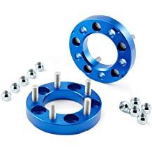 6x139 31.75mm Spacer Kit Set of 4 Orion Motor Tech 6x5.5 Wheel Spacers 1.25in Wheel Adapters with Studs Compatible with 1996-2015 Toyota 4-Runner Toyota FJ Cruiser Toyota Tacoma Toyota Tundra