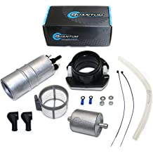 HFP-183-F Motorcycle External Inline Fuel Pump replacement for Honda FourTrax 350 FourTrax Foreman 350 1986-1989