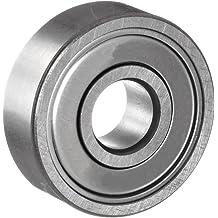 XJS 6203Z Silver Tone Double Shielded 40mm Outer Diameter Deep Groove Ball Bearing 2 Pcs