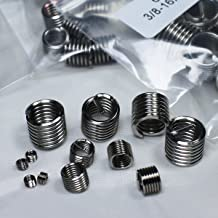 Helicoil 6mm 304 Stainless Steel Helical Insert with M4 x 0.7 Internal Thread
