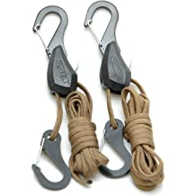 Chrome U-Shaped Universal Rope Hook Pack of 2 PROGRIP 812420 Trailer Transport and Truck Tie Down Accessories