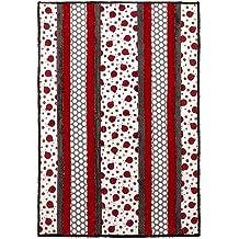 Shannon Newlin Garden Dreams PWSN009 Secret Garden Pink Cotton Fabric By Yd