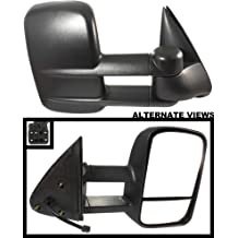 Power-Adjust, Non-Heated, Manual-Fold; Replaces 3C3Z-17682-DAA, 3C3Z17682DAA APDTY 112731 Side View Tow Towing Mirror Assembly Fits Right 2001-2005 Ford Excursion 1999-2007 Ford F-Series Super Duty