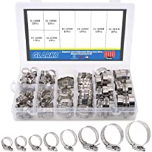 Pro Tie 33005 SAE Size 16 Range 13//16-Inch-1-1//2-Inch Regular Duty All Stainless Hose Clamp 10-Pack